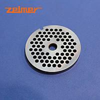 "Решетка для мясорубки Zelmer 8"" диаметр отверстия 4 мм"
