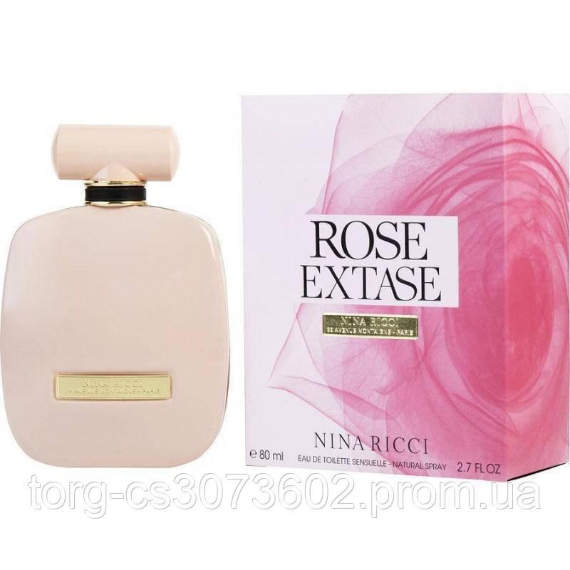 Nina Ricci Rose Extase, женская туалетная вода 80 мл.