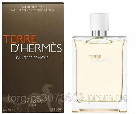 Terre d'Hermes Eau De Toilette, мужская туалетная вода 100 мл.
