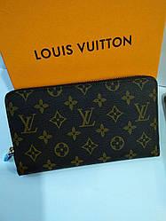 Женский кошелек Louis Vuitton Луи Виттон Средней жесткости, 2 основных, LV