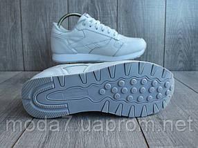 Кросівки жіночі білі Reebok Classic репліка, фото 3