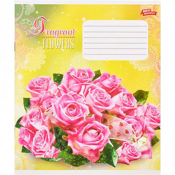 Тетрадь цветная 18 листов, линия «Ароматные цветы»           20 штук          2584л, фото 2