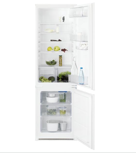Встраиваемый холодильник с морозильником Electrolux ENN2800AJW