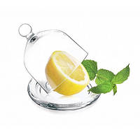 Лимонница стеклянная, прозрачная, 10 см, Glasmark Гласмарк