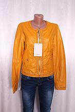 Шкіряна куртка жіноча з еко-шкіри