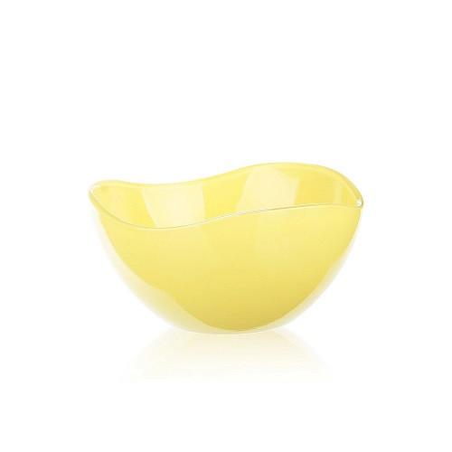Салатница, 12 см, желтый