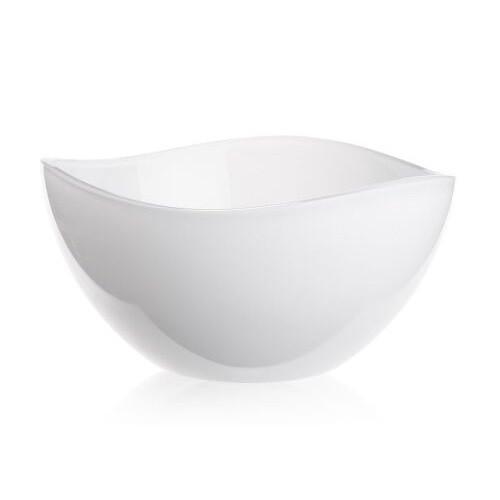 Салатница, 21 см, белый