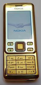 Мобильный телефон Nokia 6300 ЗОЛОТОЙ! КОПИЯ!