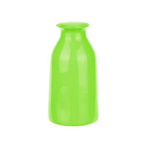 Ваза-бутылка, 18 см, зеленый