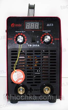 Сварочный инвертор EDON TB-265A, фото 2