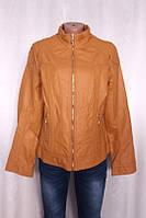 Куртка женская, состав ткани эко-кожа