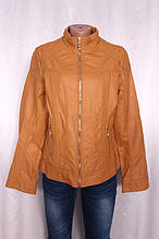 Куртка жіноча, склад тканини еко-шкіра