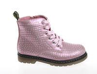 Стильные ботиночки для девочки Сказка R218335652 розовые стразы 28р