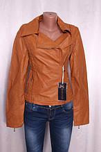 Куртка з еко-шкіри, жіноча