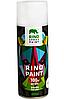 Аэрозольная краска Rino 400мл 4 черный мат