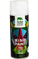 Аэрозольная краска Rino 400мл 4черный мат