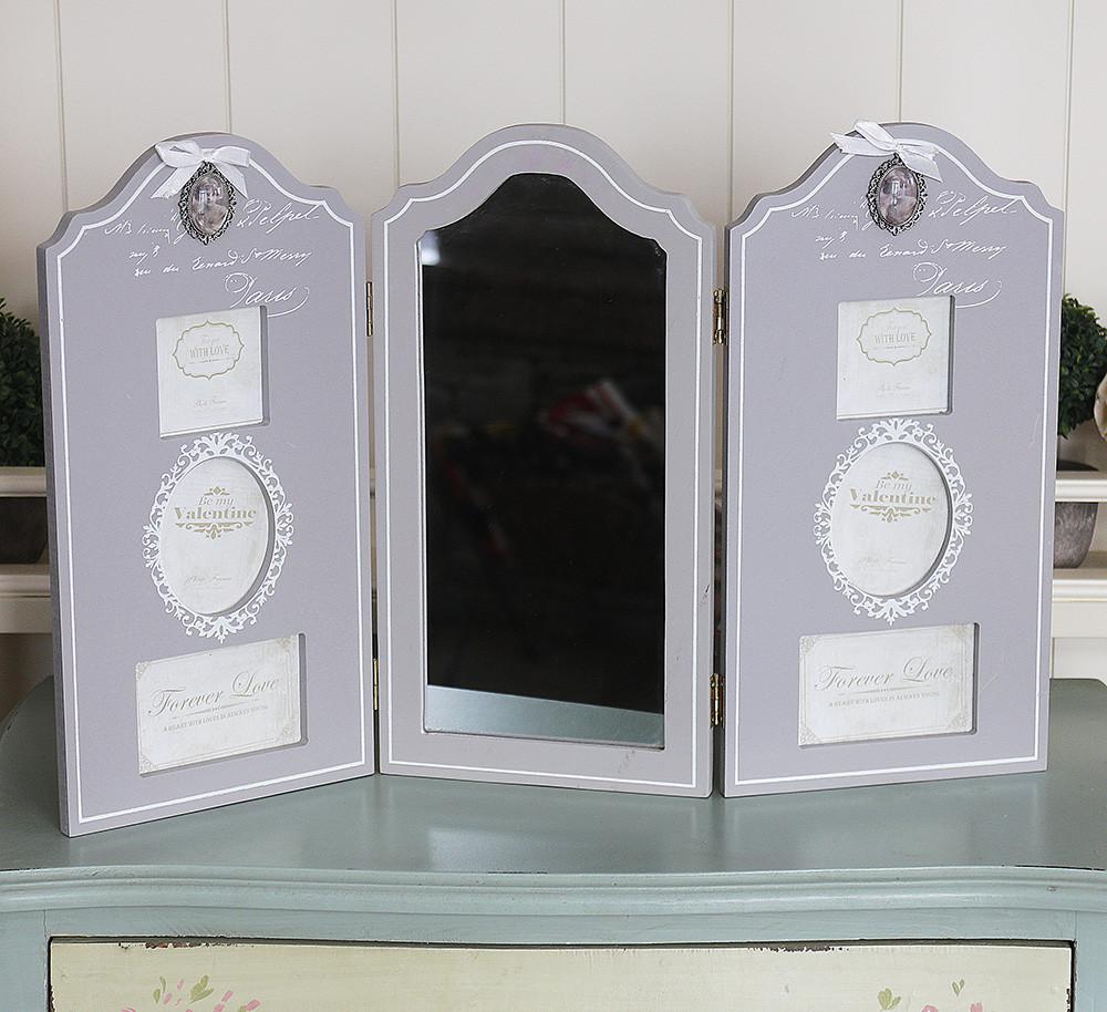 Фотоколлаж тройной с зеркалом Гранд Презент GM08-8142