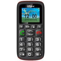 Кнопочный мобильный телефон для пожилых людей на 2 сим карты Maxcom MM428