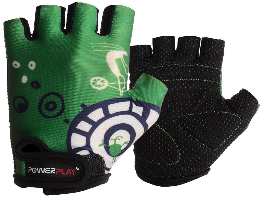 Велорукавички PowerPlay 001 A Зелені 3XS