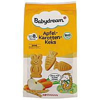 Babydream Bio Apfel-Karotten-Keks - Натуральное Детское Яблочно-морковное Печенье 125 г, с 8-го мес.