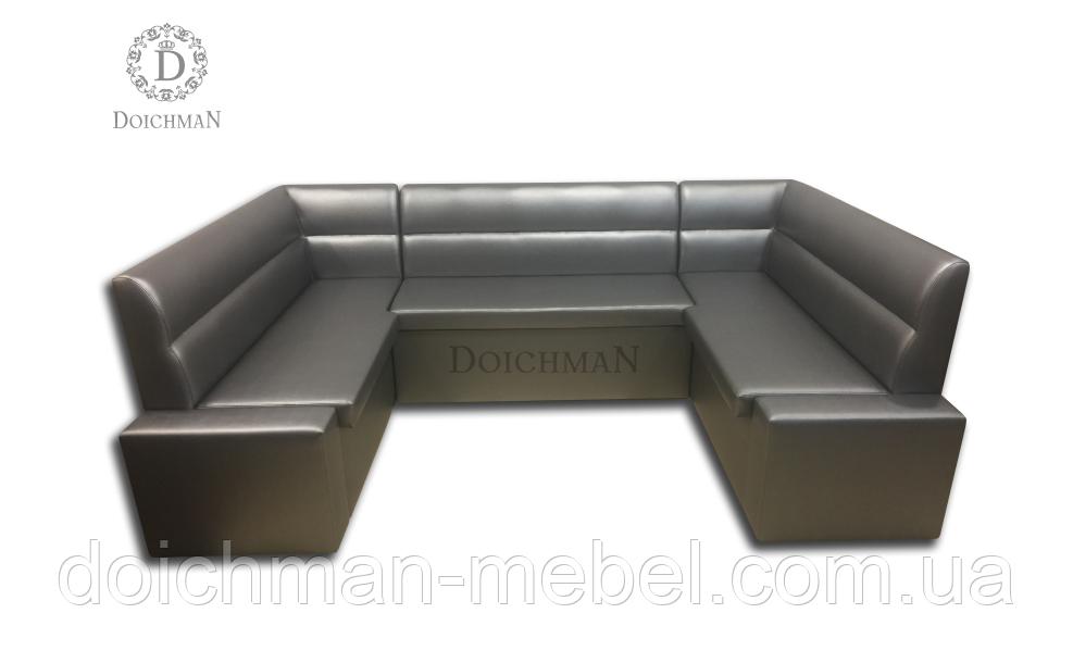П-образный офисный диван