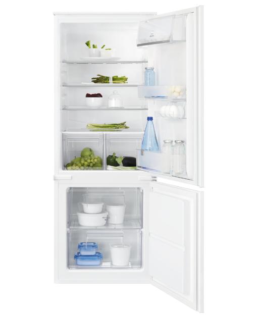 Встраиваемый холодильник с морозильником Electrolux ENN2300AOW