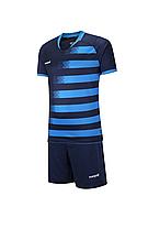 Футбольная форма Europaw 021 т.сине-синяя, фото 2