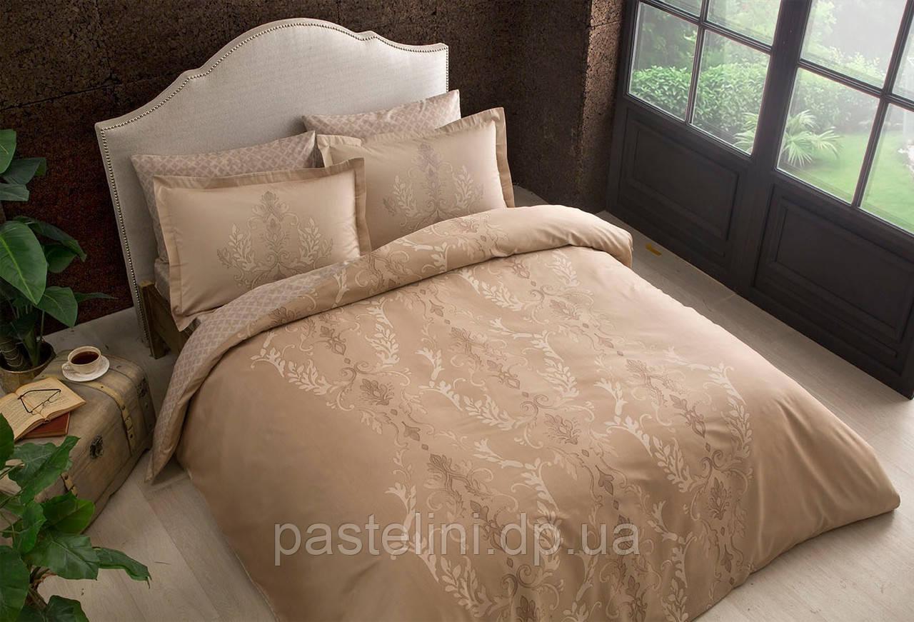 TAC евро комплект  постельного белья saten delux Mauna tas