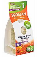 Органическое чищающее средство для ванной комнаты (запаска-концентрат) Sodasan 100мл