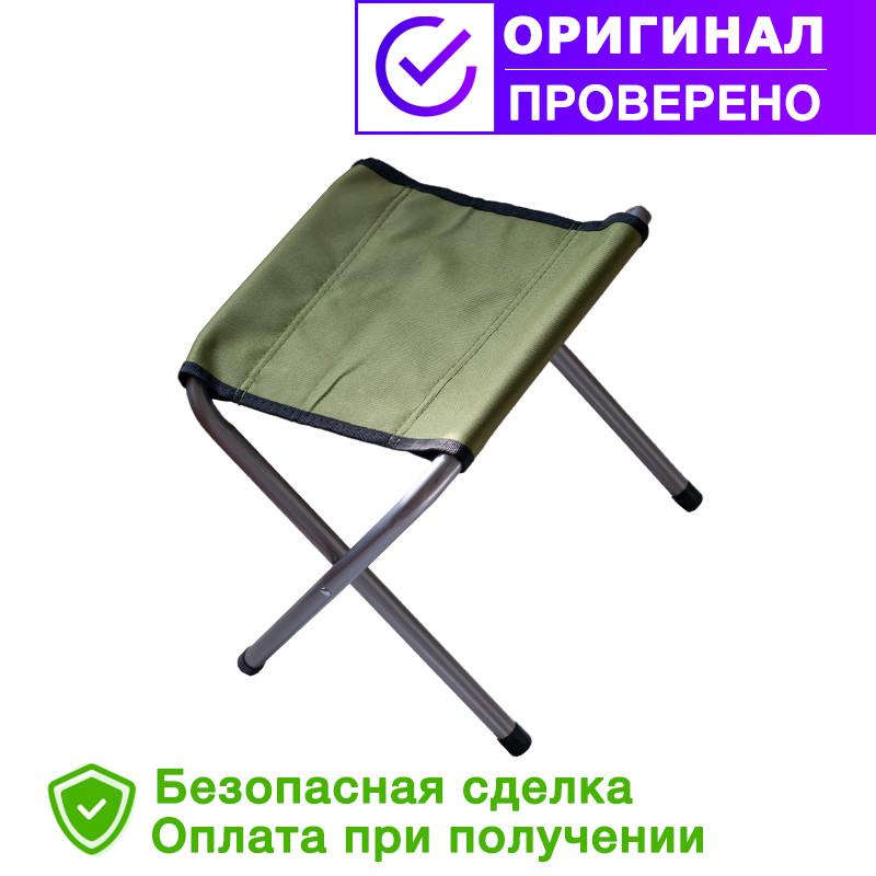 Складаний рибальський стілець без спинки Ranger FS-21123(алюміній)