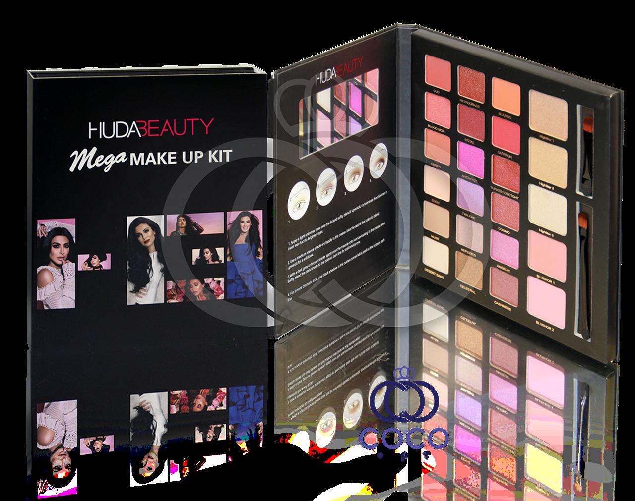 Палетка для макияжа Huda Beauty Mega Make Up Kit