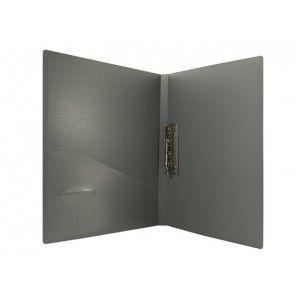 Папка с прижимом и карманом пластиковая А4 ECONOMIX Е31202-0305