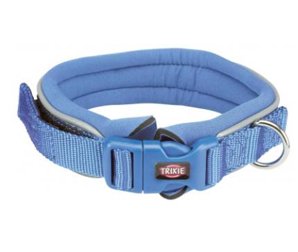 """Нашийник """"Premium"""" з неопренової підкладкою, L–XL: 55-61 см/30 мм королівський синій"""