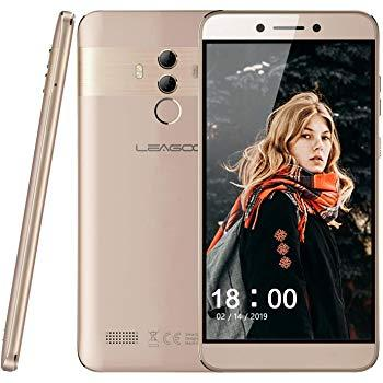 "Смартфон Leagoo T8S 4/32 Gold, 13+2/5Мп, 5.5"" IPS, 2SIM, 4G, 3080мАh, 8 ядер"