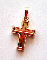 Кулон крестик, Xuping позолота