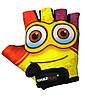 Велорукавички PowerPlay 5473 Minion Жовті 3XS, фото 2