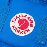 Рюкзак Fjallraven Kanken Blue, фото 5