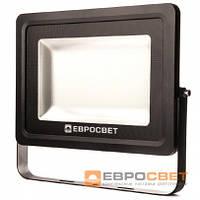 Прожектор светодиодный ЕВРОСВЕТ 200 Вт 6400 К EV-200-01 PRO18000 Лм.HM