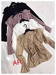 Женская блуза с воланами (4 цвета), фото 3