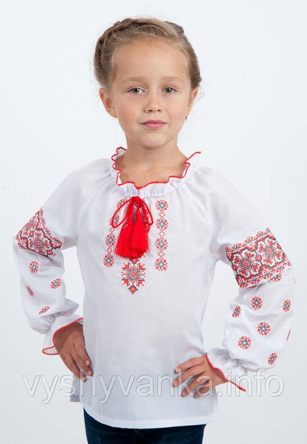 Дитяча вишиванка для дівчинки 15dea1925920f