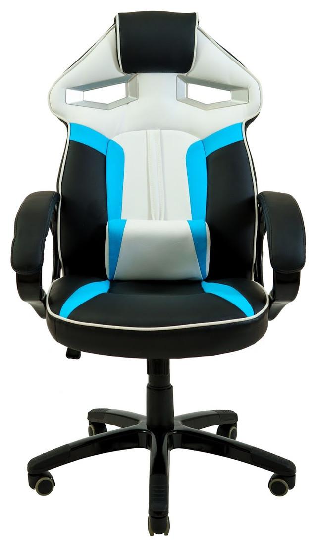 Кресло РичСпорт Люкс голубой (фото 2)