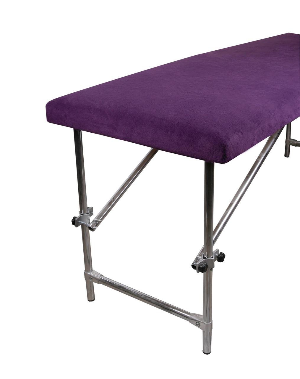 Чохол флісовий  100х220 см фіолетовий