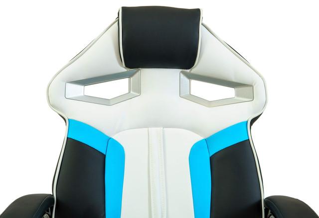 Кресло РичСпорт Люкс голубой (фото 4)