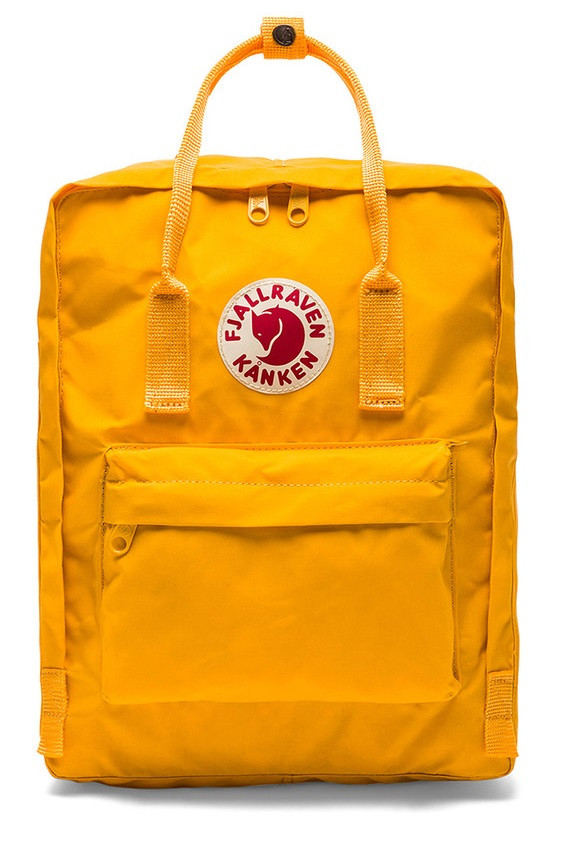 Рюкзак Fjallraven Kanken Yellow
