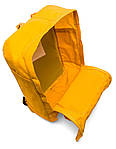 Рюкзак Fjallraven Kanken Yellow, фото 4