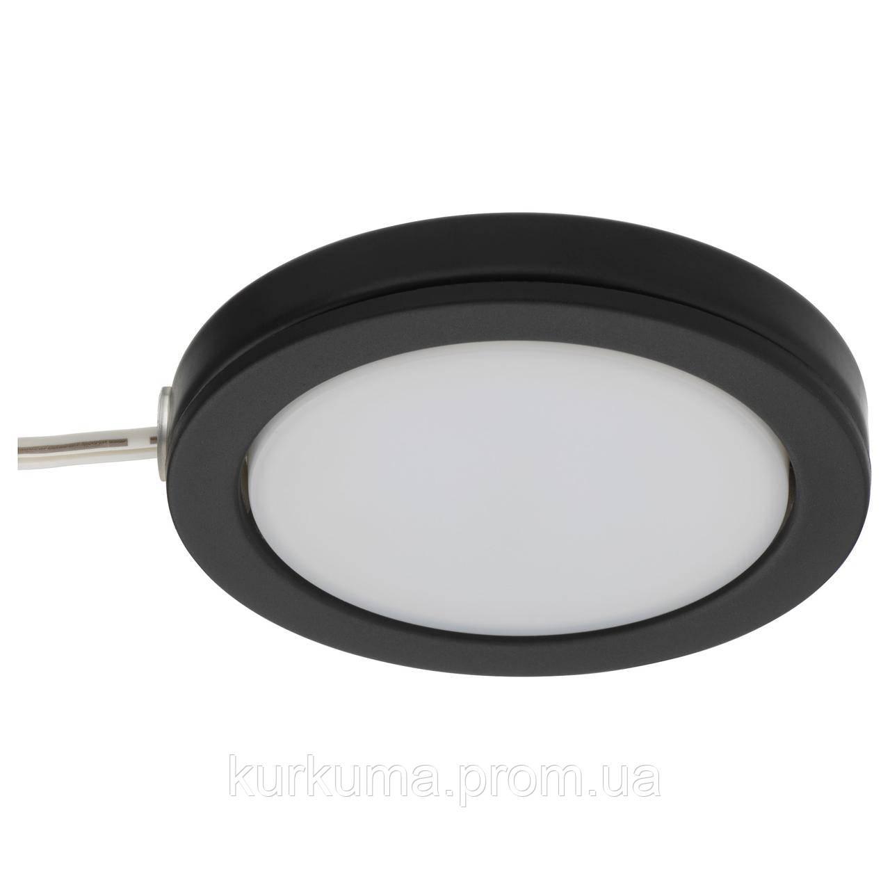 IKEA OMLOPP Светодиодная подсветка, черный  (202.771.82)