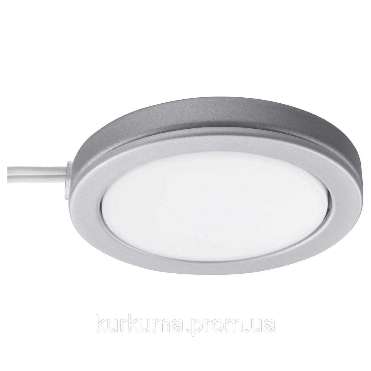 IKEA OMLOPP Светодиодная подсветка, серебро  (502.329.60)