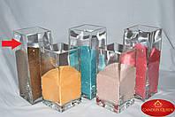 Ваза прямоугольная для насыпной свечи, флористики 250х100х100 мм, фото 1