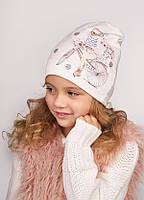 Детская  шапка  для девочек КЕТРИН оптом размер 46- 48