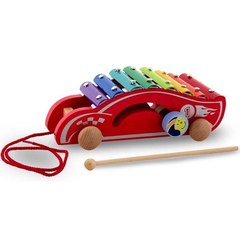 """Игрушка-каталка """"Машинка"""" Viga Toys 50341"""